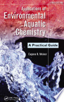 Applications of Environmental Aquatic Chemistry Book
