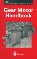 Gear Motor Handbook