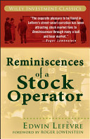 Reminiscences Of A Stock Operator Book PDF