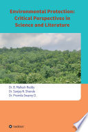 Environmental Protection  Critical Perspectives in Science and Literature