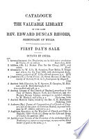 Catalogues Of Items For Auction By Messrs Sotheby Wilkinson Hodge 1850 1880