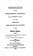 Pdf Thoughts on the Cherubimical Mystery, Or, An Attempt to Prove that the Cherubims Were Emblems of Salvation by the Blood of Jesus