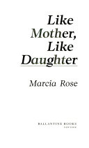 Like Mother  Like Daughter Book PDF
