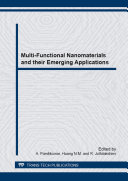 Multi Functional Nanomaterials and their Emerging Applications