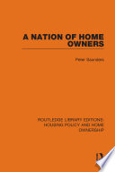 A Nation of Home Owners
