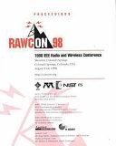 Proceedings Rawcon 98 Book PDF
