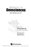 Advances In Geosciences Book