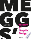 Meggs  History of Graphic Design Book