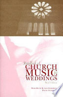 Handbook of Church Music for Weddings
