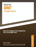 Master the GMAT--Practice Test 3