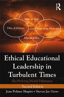 Ethical Educational Leadership in Turbulent Times Pdf/ePub eBook