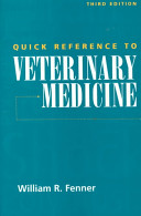 Quick Reference to Veterinary Medicine Book