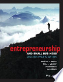 ENTREPRENEURSHIP AND SMALL BUSINESS 3RD ASIA-PACIFIC EDITION