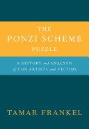 The Ponzi Scheme Puzzle