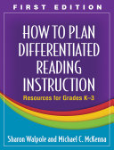 How to Plan Differentiated Reading Instruction