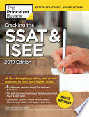 Cracking The Ssat Isee 2019 Edition Book PDF
