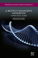 A Biotech Manager s Handbook