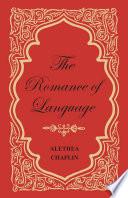 The Romance of Language