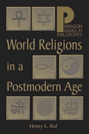 World Religions in a Post Modern Age