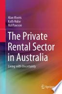 The Private Rental Sector in Australia