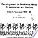 Development in Southern Africa