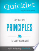 Quicklet on Ray Dalio s Principles  CliffNotes like Summary