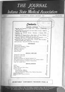 The Journal of the Indiana State Medical Association