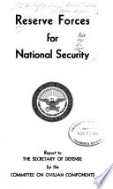 Reserve Forces For National Security