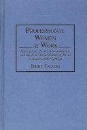 Professional Women at Work