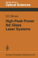 High-Peak-Power Nd: Glass Laser Systems [Pdf/ePub] eBook