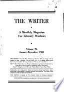 The Writer  , Volume 76