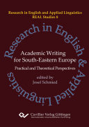 Academic Writing for South Eastern Europe