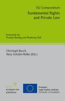 EU Compendium   Fundamental Rights and Private Law