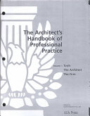 The Architect's Handbook of Professional Practice: The documents
