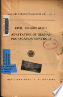 Adaptation of German Propaganda Controls
