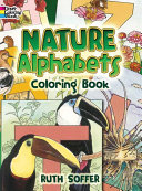 Nature Alphabets Coloring Book