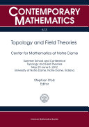 Topology and Field Theories