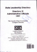 State Leadership Directory