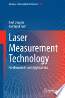 Laser Measurement Technology Book PDF