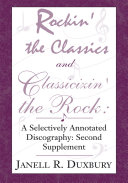 Rockin  the Classics and Classicizin  the Rock