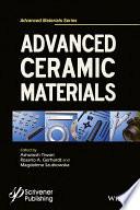 Advanced Ceramic Materials Book