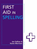 Books - First Aid In Spelling | ISBN 9781444168938