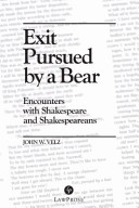 Exit Pursued by a Bear