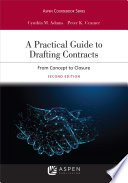 A Practical Guide to Drafting Contracts Book PDF