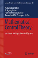 Mathematical Control Theory I