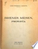 Brenes Mesén, prosista