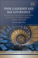 Poor Leadership and Bad Governance