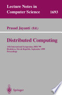 Distributed Computing Book