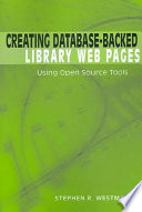 Creating Database Backed Library Web Pages