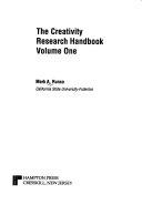 The Creativity Research Handbook